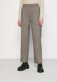 Envii - ENLAFAYETTE PANTS - Trousers - brown - 0