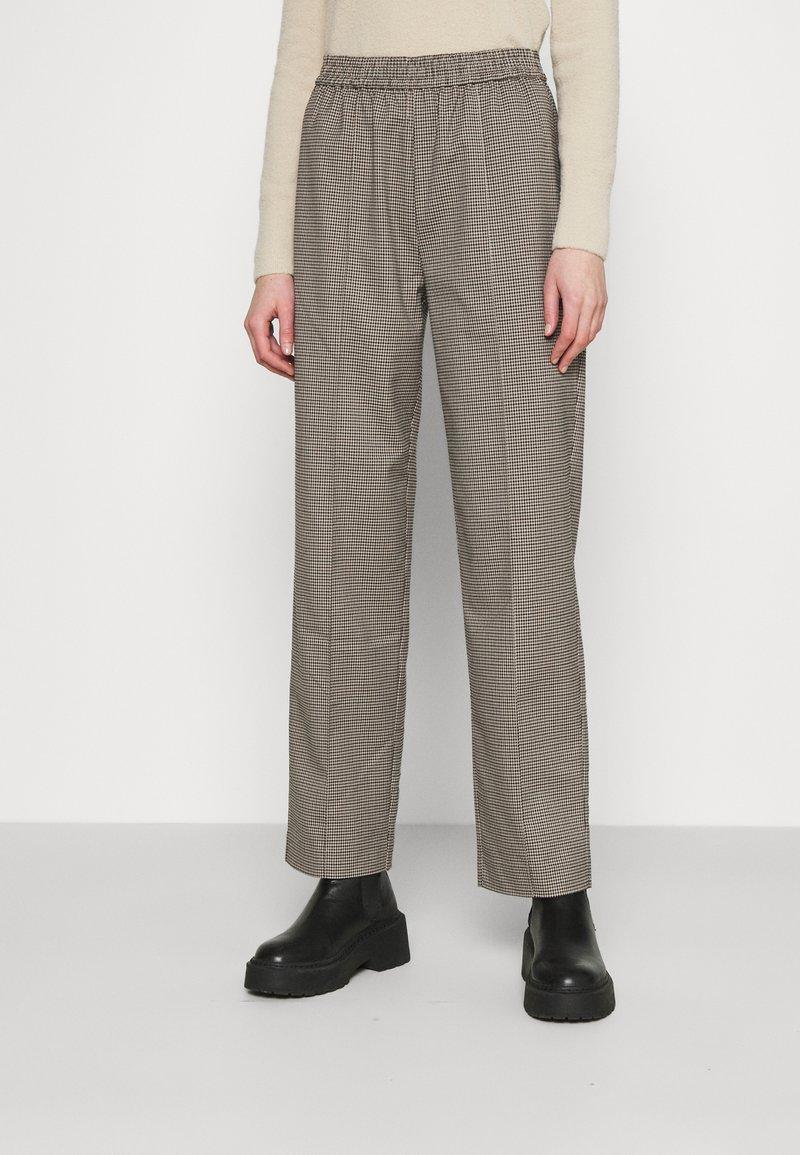 Envii - ENLAFAYETTE PANTS - Trousers - brown