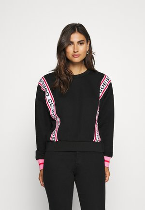 CLEMENCE - Sweater - jet black