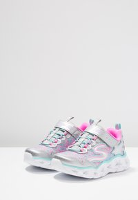 Skechers - GALAXY LIGHTS - Trainers - silver/multicolor - 2