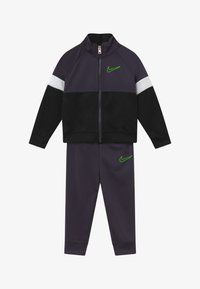 Nike Sportswear - COLOR BLOCK TRICOT BABY SET  - Tracksuit - black - 3