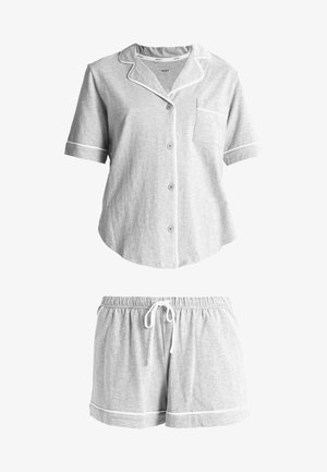 TOP BOXER PJ - Pyjama set - grey heather