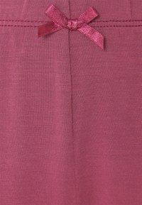 Hunkemöller - SHORT SET  - Pyjamas - maroon - 8