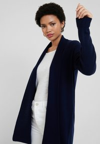 Benetton - OPEN CARDIGAN - Kardigan - dark blue - 3