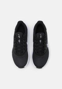 Nike Performance - DOWNSHIFTER 11 - Neutral running shoes - black/white/dark smoke grey - 3