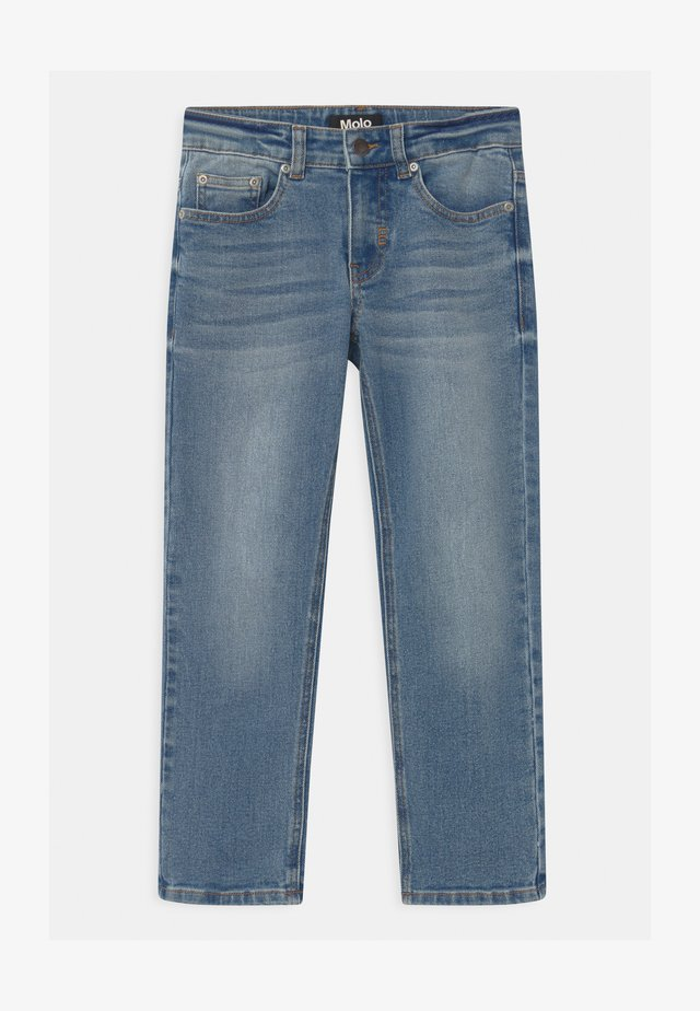 ALON - Jeans a sigaretta - light-blue denim