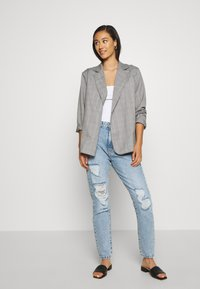 Dr.Denim - NORA - Jeans relaxed fit - destiny light blue ripped - 1