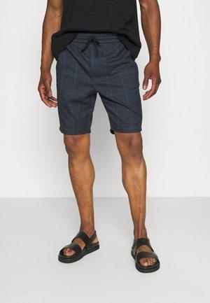 ONSLINUS CHECK  - Shorts - dress blues