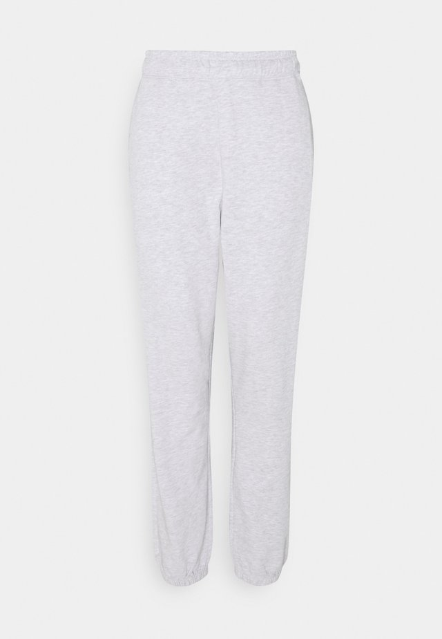 VMODEZ PANTS - Trainingsbroek - light grey melange