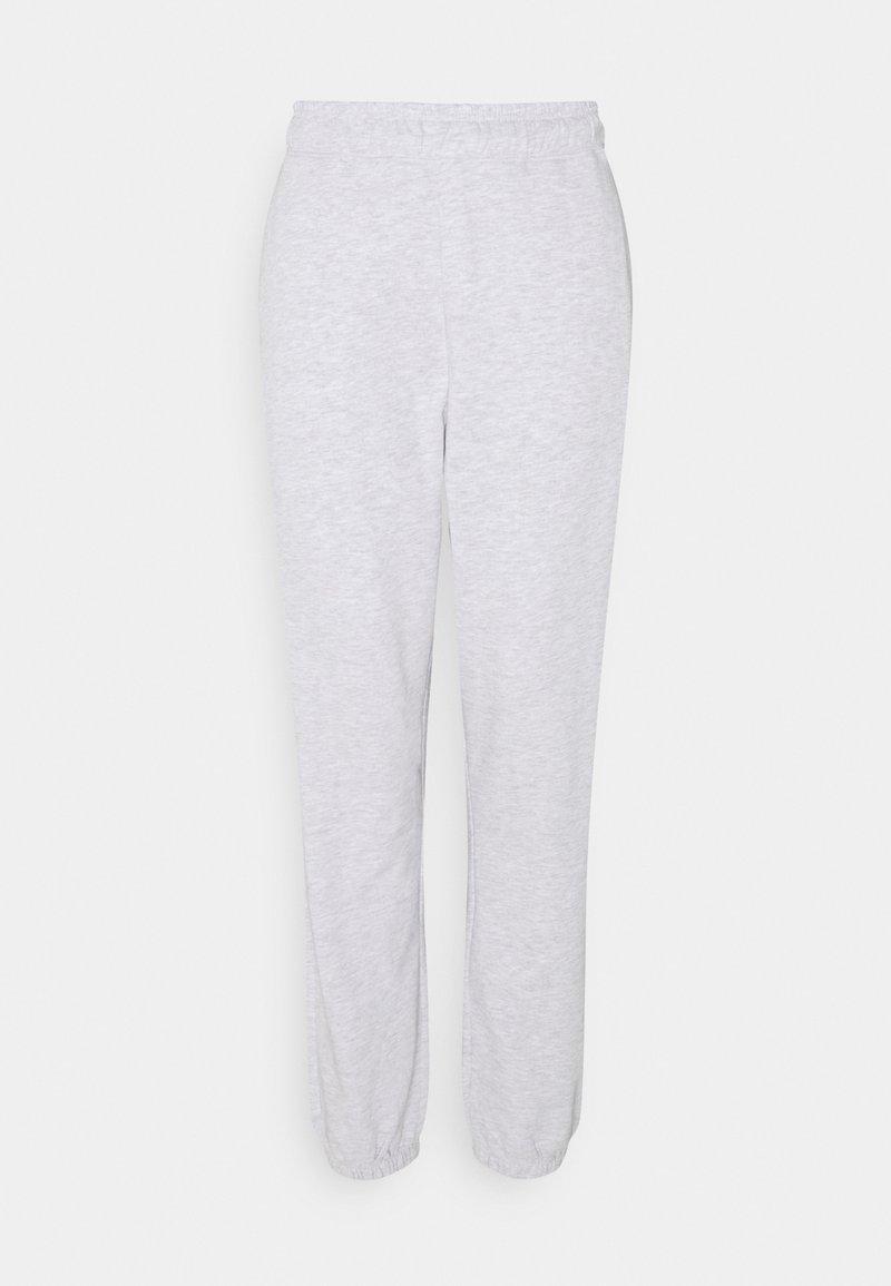 Vero Moda Tall - VMODEZ PANTS - Tracksuit bottoms - light grey melange