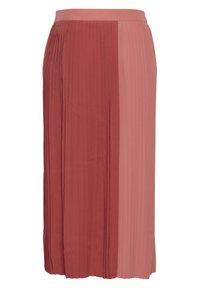 ICHI - A-line skirt - dusty cedar - 5