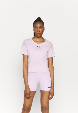 PAMELA REIF X PUM TEE BACK CUTOUT - T-shirt con stampa - wisnome orchid