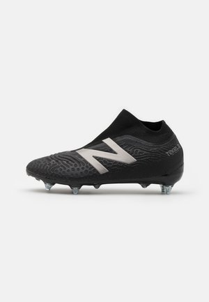 Moulded stud football boots - black
