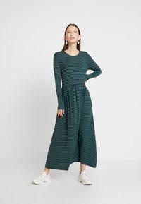 Samsøe Samsøe - LEAH DRESS - Maxi dress - dark green - 2