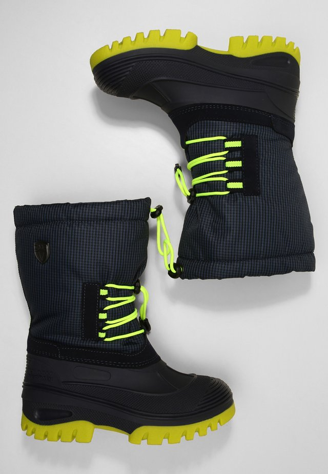 AHTO WP UNISEX - Winter boots - black blue
