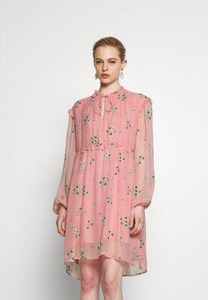 Denní šaty -  fine flower blush