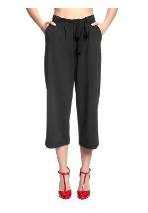 CHERRIES - Trousers - schwarz