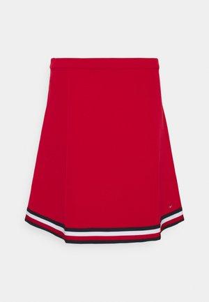ANGELA GLOBAL SHORT SKIRT - A-line skirt - primary red