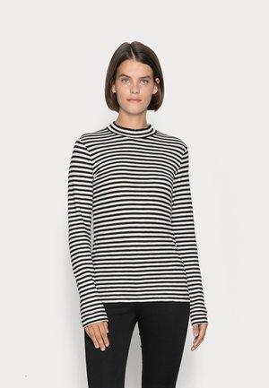 HIGH NECK LONG SLEEVE - Long sleeved top - black