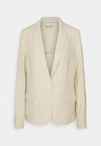 SINGLE BREASTED BUTTON REGULAR FIT - Blazer - summer taupe