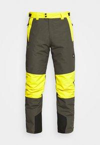 ANDRAS MENS SNOWPANTS - Snow pants - pine grey