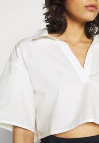 Monki - LIZ BLOUSE - Bluser - off white - 5
