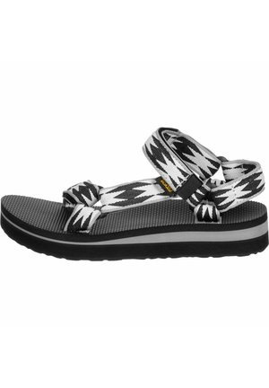 UNIVERSAL - Walking sandals - halcon black multi