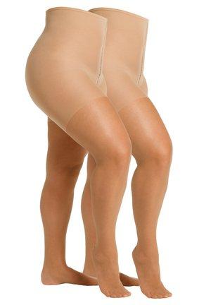 FEINSTRUMPFHOSE WOMEN CURVY 20 DEN MATT, 2 PACK - Tights - skin