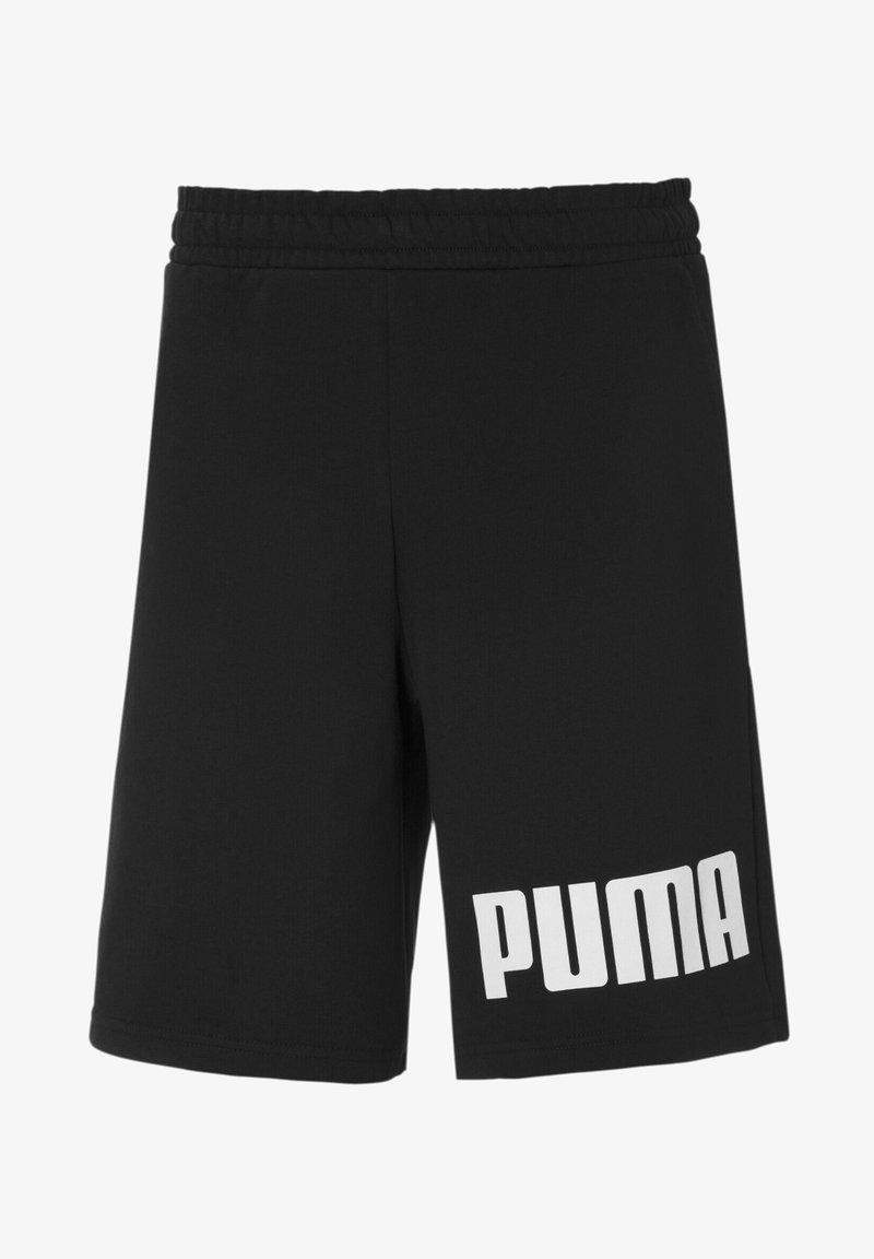 Puma - Shorts - black-white