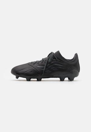 COPA SENSE.3 FG - Moulded stud football boots - core black/grey six