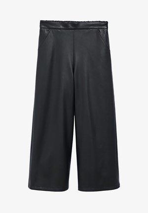 TEA - Trousers - svart
