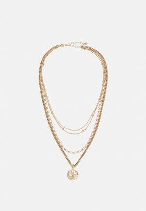 PCKERIME COMBI NECKLACE - Necklace - gold-coloured