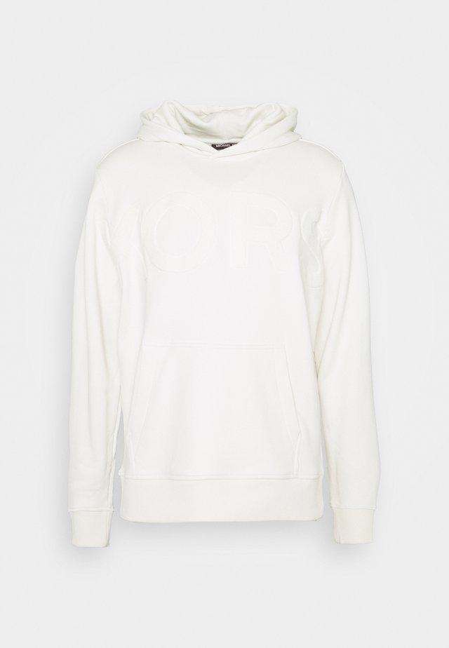 OVERSIZE LOGO HOODIE - Sweatshirt - ivory