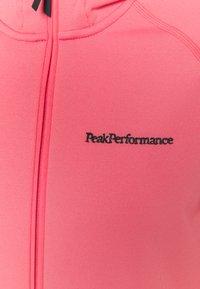 Peak Performance - CHILL ZIP HOOD - Fleece jacket - alpine flower - 2