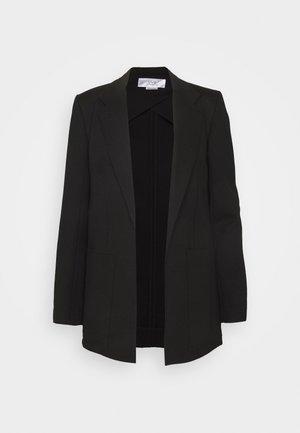 PATCH POCKET JACKET - Short coat - black