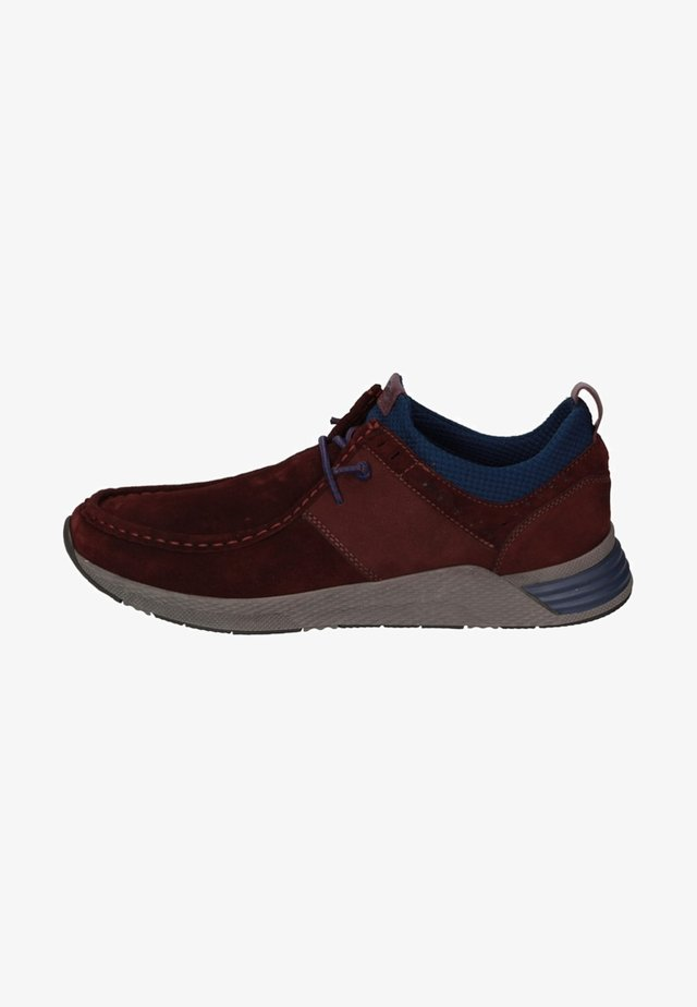 GRASH - Casual lace-ups - red