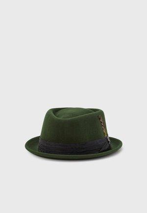 STOUT PORK PIE UNISEX - Hatt - moss/black