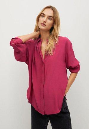 CEBRA-A - Button-down blouse - fuchsia