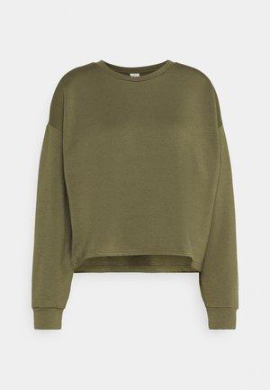 JDYLUCI CROPPED - Sweatshirt - ivy green