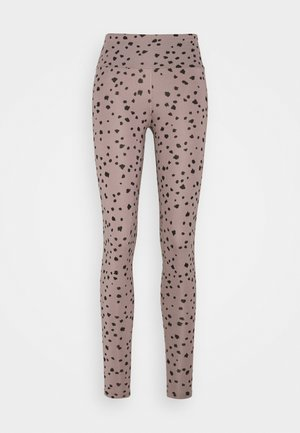 DOTS  - Leggings - taupe