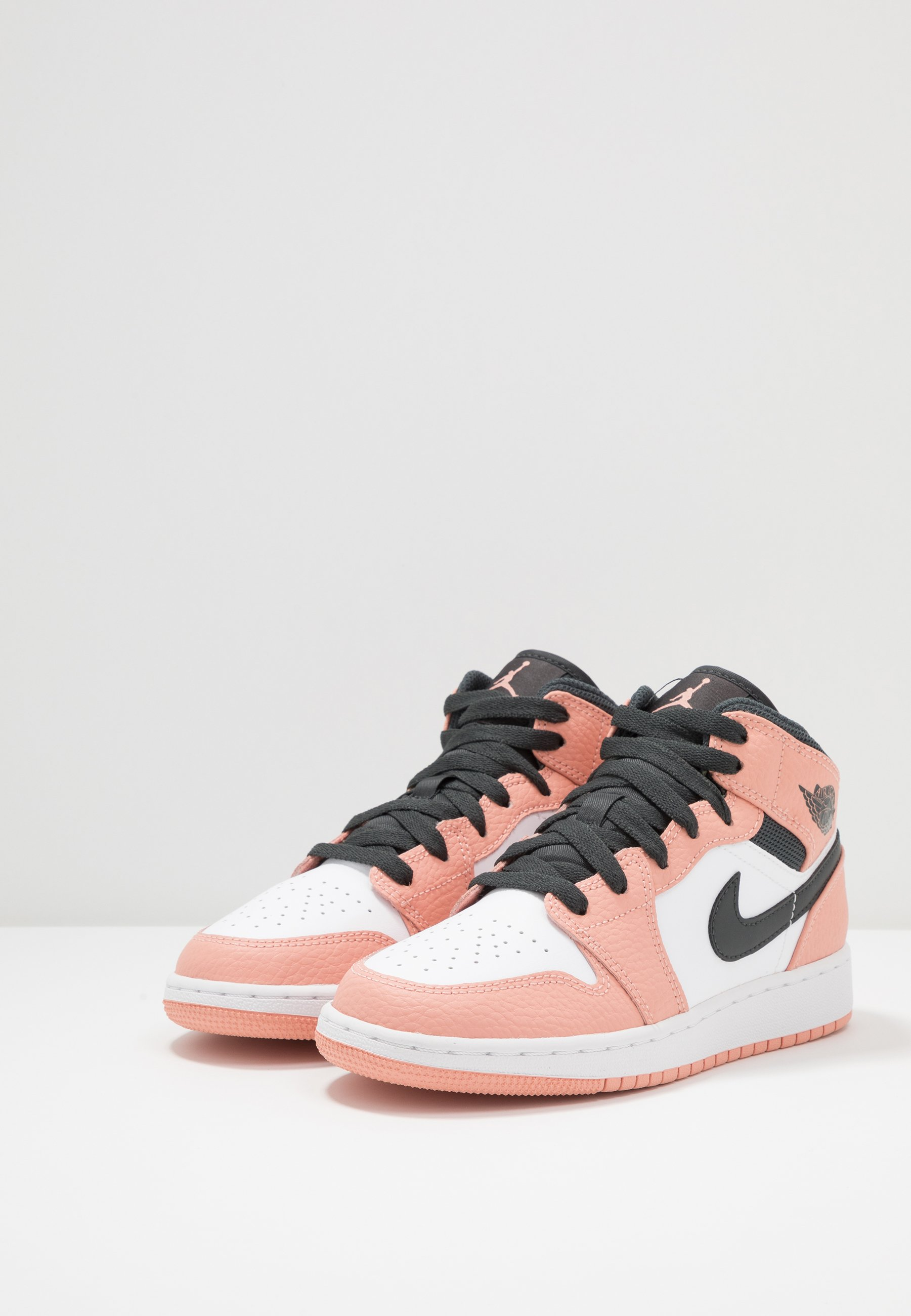 AIR 1 MID - Basketbalschoenen - pink quartz/dark smoke grey/white