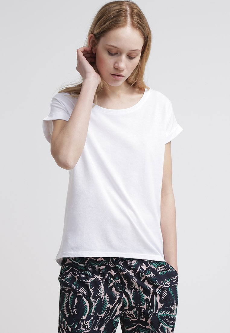 Vila - VIDREAMERS PURE - Basic T-shirt - optical snow