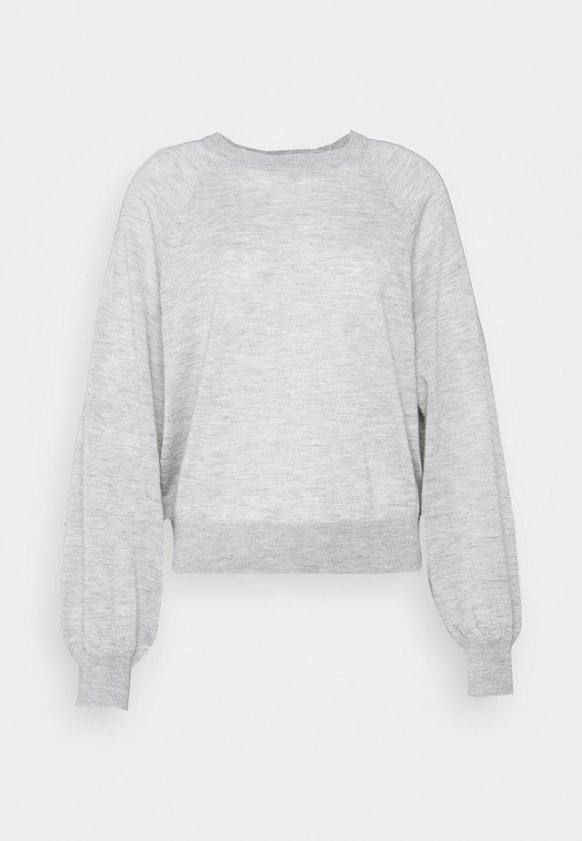 Pullover - silver stone