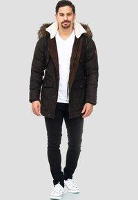 INDICODE JEANS - BAYNES - Winter coat - chocolate - 1