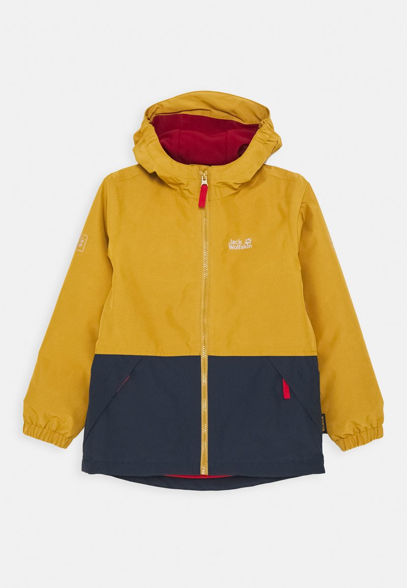 Jack Wolfskin - SNOWY DAYS JACKET KIDS - Outdoor jacket - golden amber