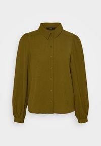 Vero Moda - VMAYA  - Button-down blouse - fir green - 4
