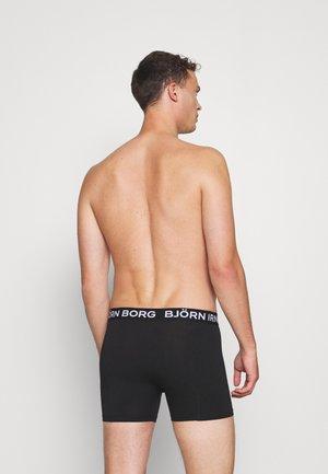 ESSENTIAL BOXER 5 PACK - Underkläder - black