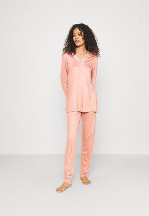 LANGER SCHLAFANZUG PREMIUM  - Pyjamas - rose