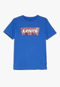 Levi's® - BATWING TEE - Triko spotiskem - princess blue - 0