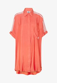 adidas Originals - DRESS - Shirt dress - trace scarlet - 4